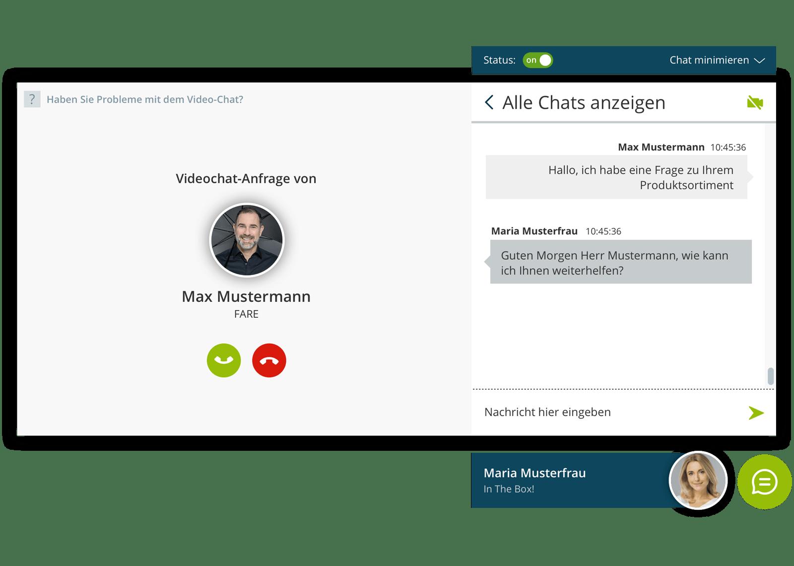 Live Kommunikation Chat